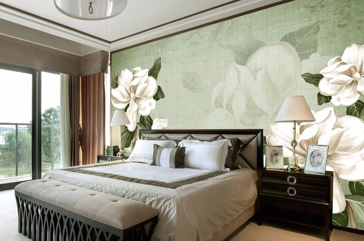 酒店床头背景墙壁画JD58