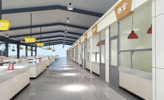 再次签约湘乡百嘉香二级农贸市场3D动画
