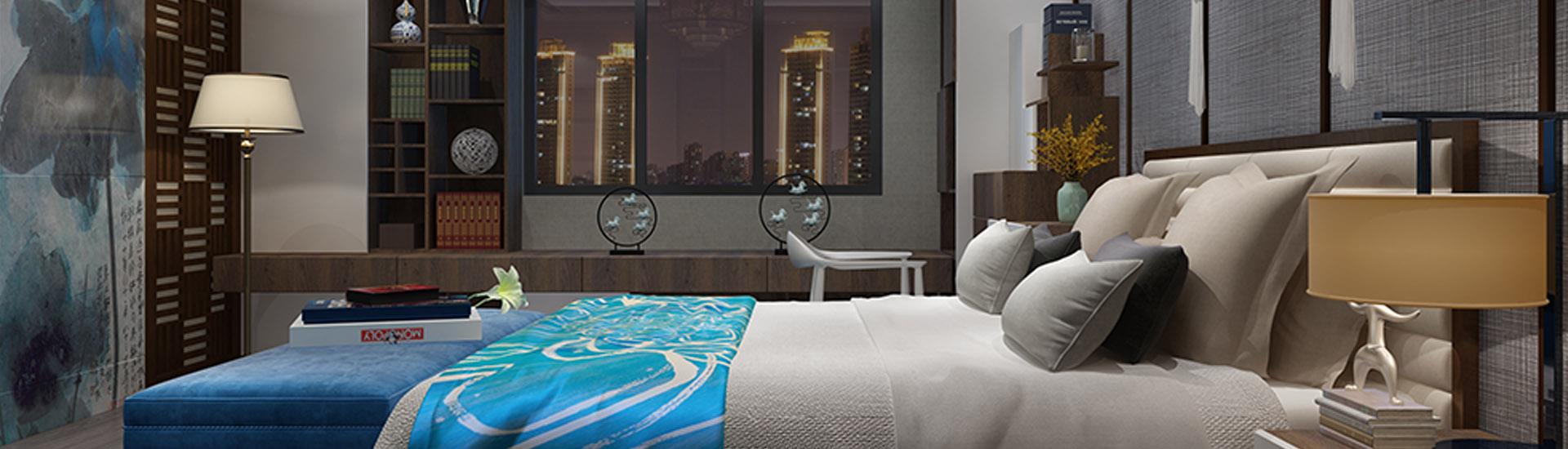 中式风 中国韵系列卧室