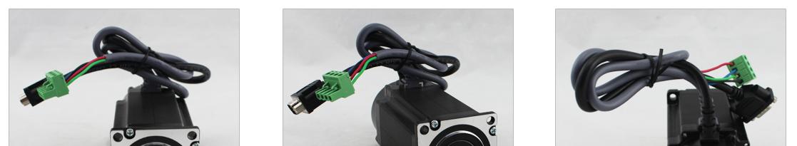 86 Nema34 closed loop hybrid motor