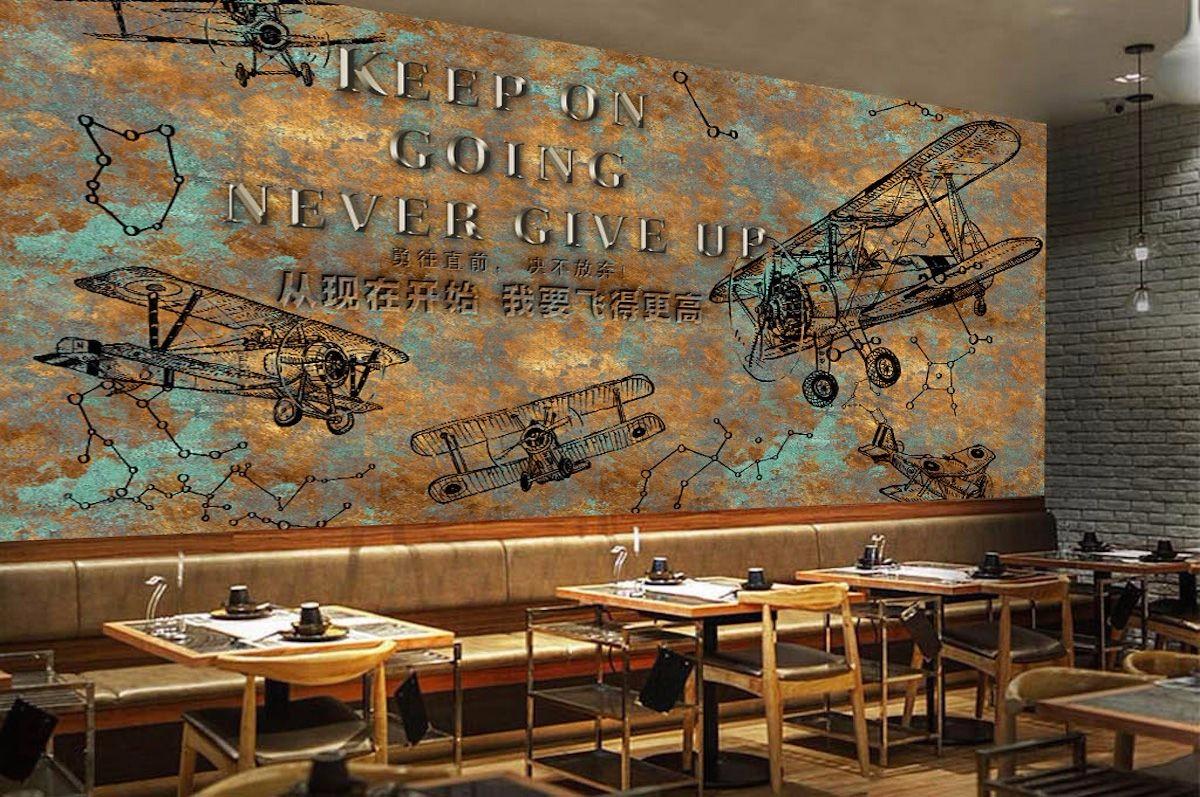 酒吧主题壁画JB046