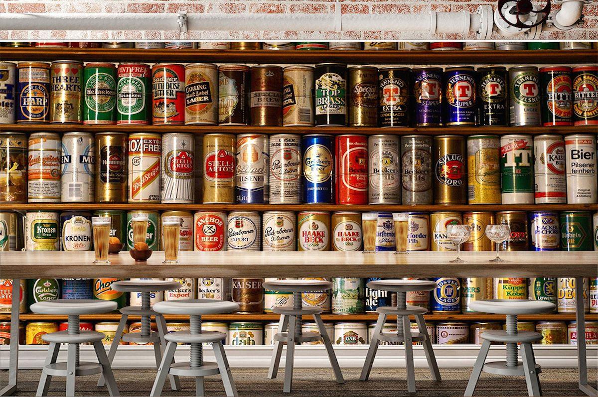 酒吧主题壁画JB036