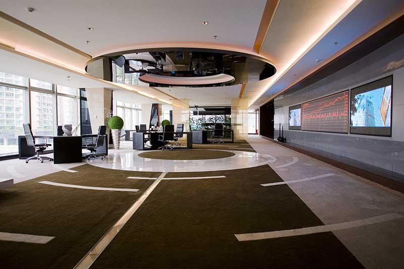 世纪中心办公室样板房