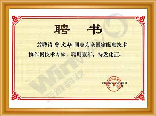 201610全国输配电技术协作网标准会员单位荣誉证书.jpg