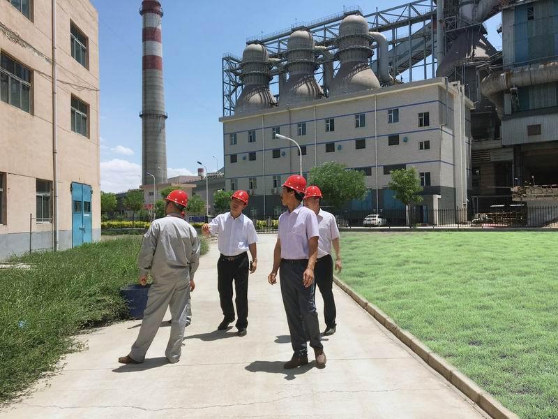 奥福集团董事长闫庆林到西北公司视察
