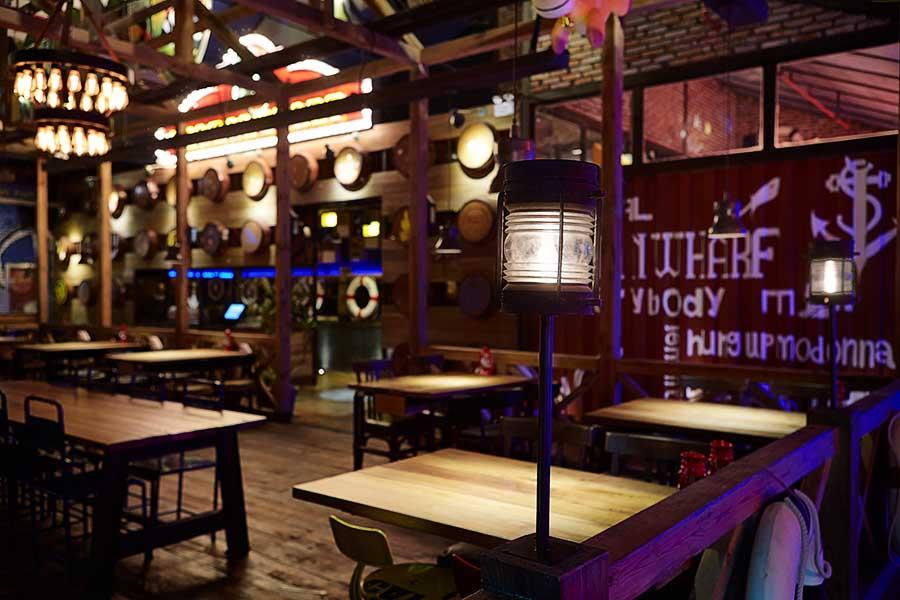 绍兴市银泰城水手码头餐厅-杭州火柴盒设计