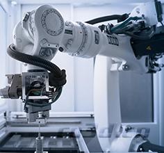 3d scanning of robotic arm base