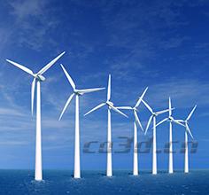 Wind turbine blade 3d detection