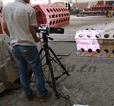 Ship engine testing