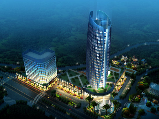 Liupanshui Jinjiang City spa Kokusai Hotel