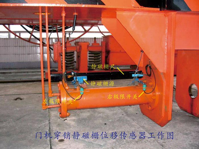 静磁栅闸门开度仪应用于清江高坝洲水电站尾水闸门门机穿销