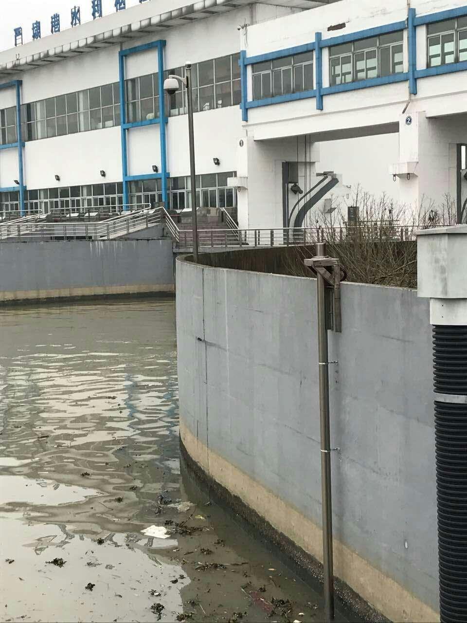 浮子式长量程激光液位传感器在无锡江尖水利工程应用