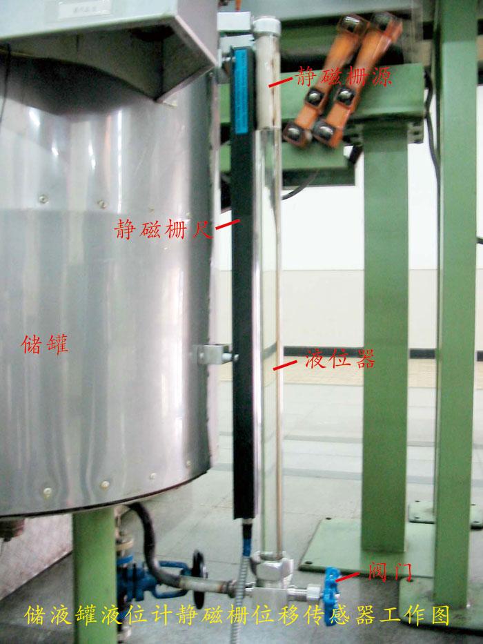 武汉卷烟厂储液罐旁通管式液位计
