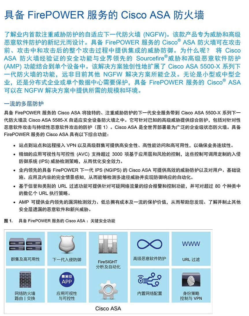 Cisco ASA5000系列