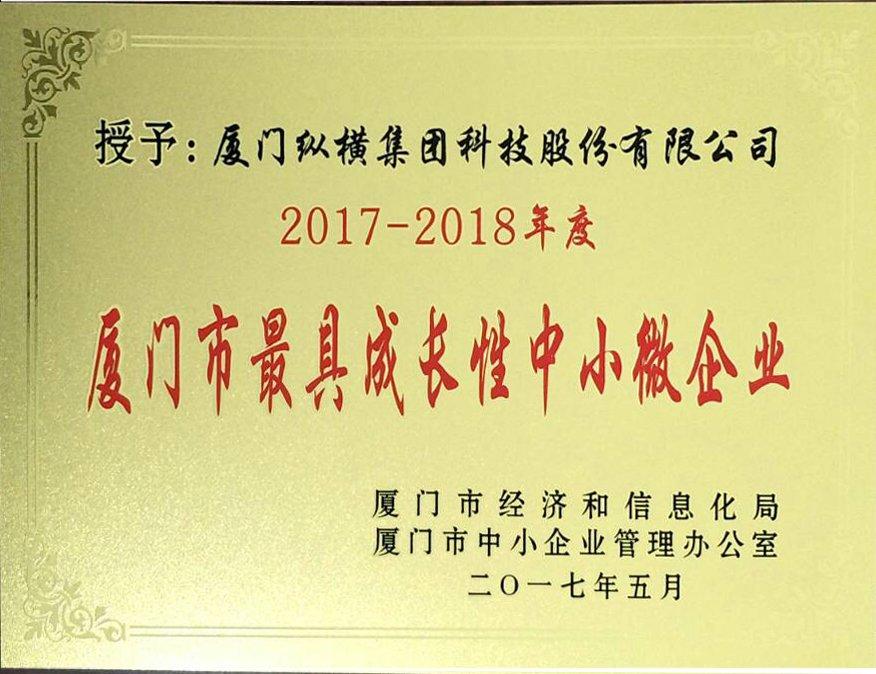 """集团两师支行荣获""""最具成长性中小微企业""""、""""成人型中小微企业""""名称"""