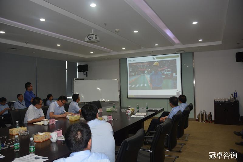 【冠卓咨询项目动态】湖南某公司精益管理项目阶段评审会