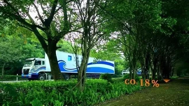 """能""""种树""""的送货车,你见过吗?"""