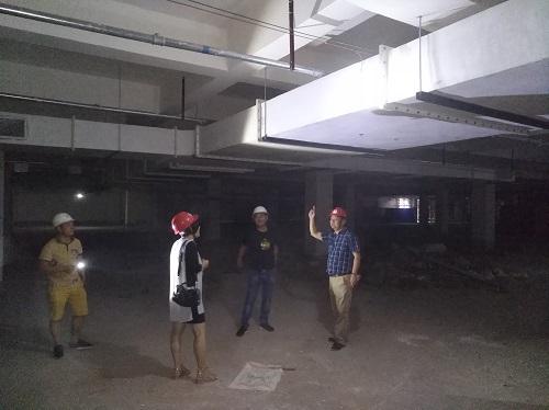 张远鹏董事长深入在建工程施工现场检查指导工作