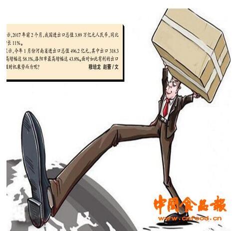 """河南食品出口企业迎来政策""""风口"""""""