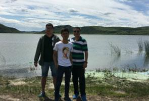 美丽多伦湖