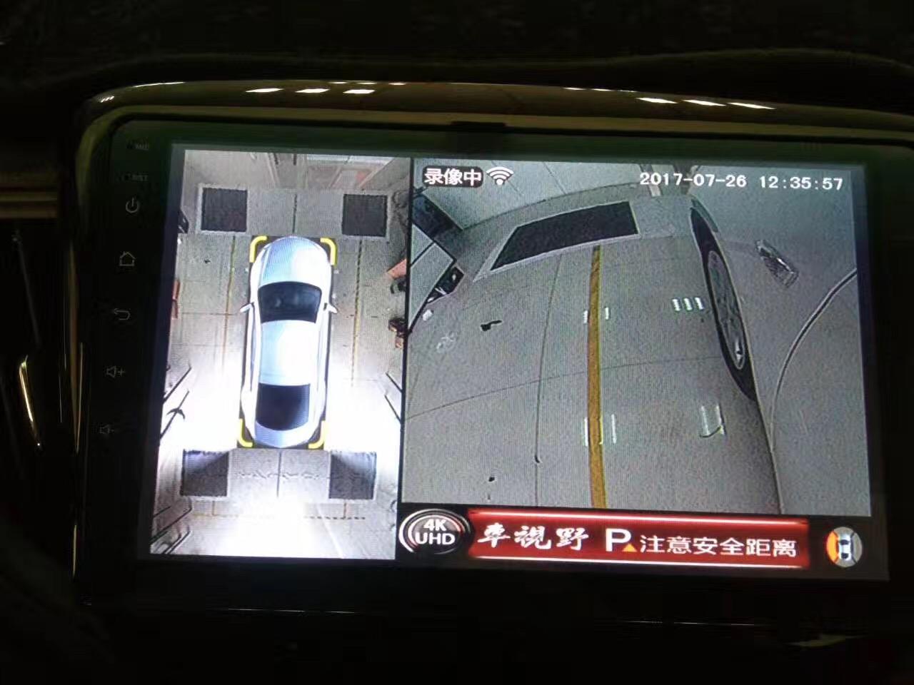 雪佛兰科沃兹加装车视野360全景4K超清带手机互联全景