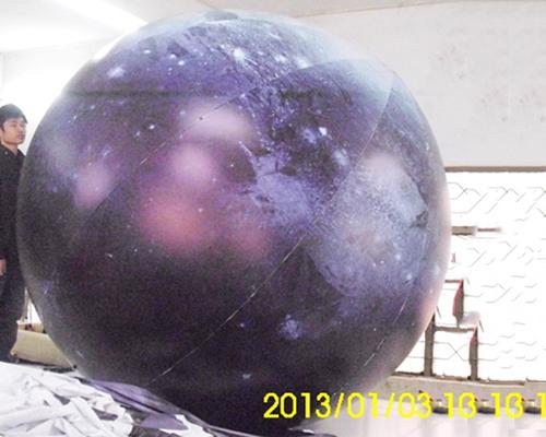 Inflatable universe planet helium balloon