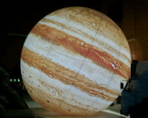 Inflatable Jupiter helium balloon