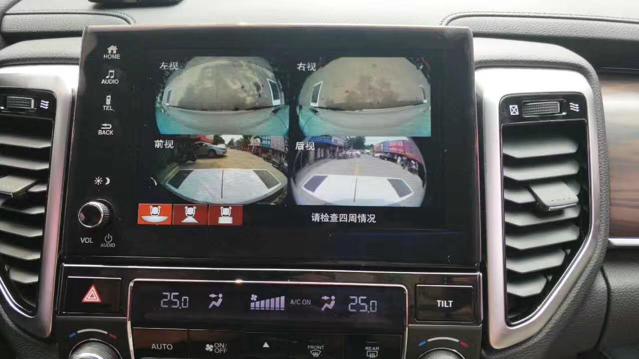 本田URV车视野360全景安装案例