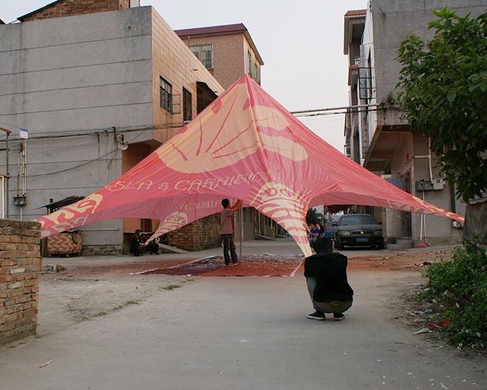 10m polygonal tent