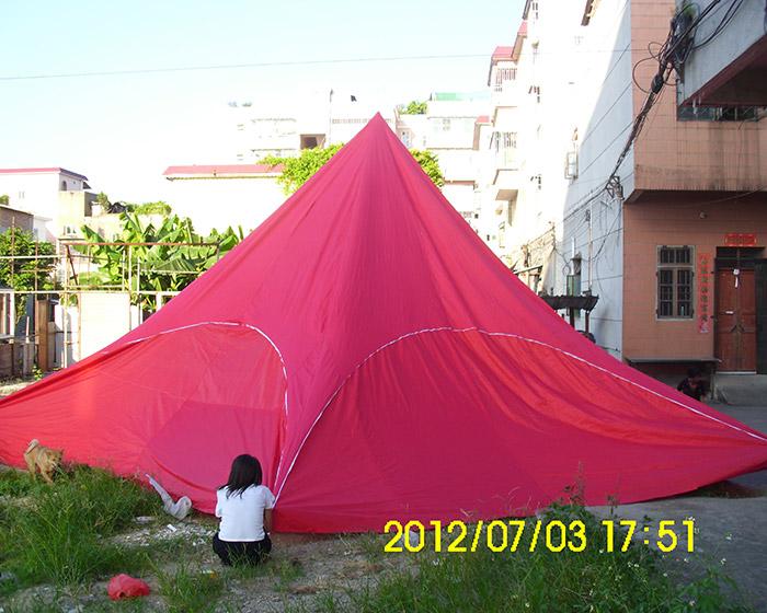 16 polygonal tent