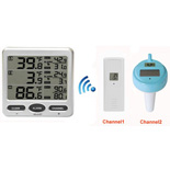 FT0072-2x Wireless Thermometer with pool sensor