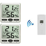 FT007-2KIT Dual Zone Wireless Thermo-hygrometer 8 Channel