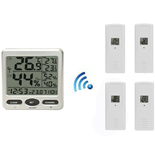 FT0071-X4 Wireless in/outdoor Thermo-hygrometer with Four remote sensor