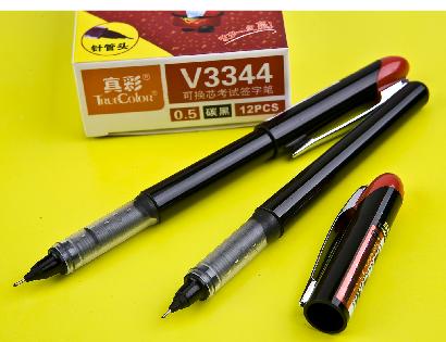 亚博体育官方下载3344可替换芯签字笔黑色