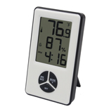 FT0412 Indoor Thermo-hygrometer with Time display