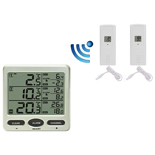 FT0076 Wireless 8 Channel Freezer Thermometer with Probe