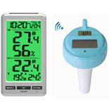 FT0087 Wireles 8 Channel Pool Thermometer with Backlight