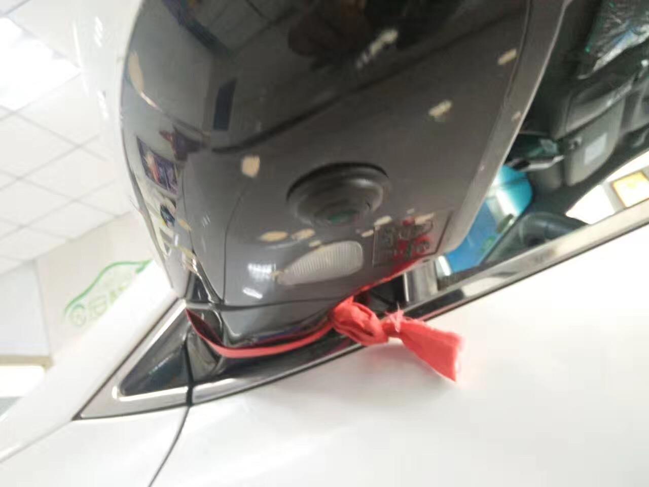 现代新胜达车视野360全景安装案例