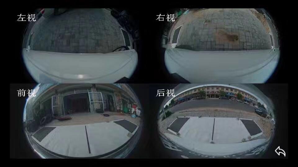 奥迪A4加装车视野4K超清带手机互联全景匹配高清解码器
