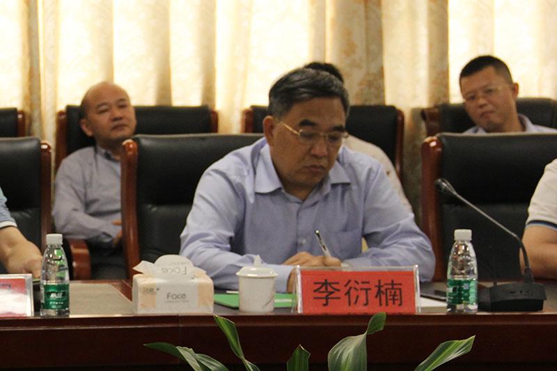 河源市市政府副秘书长李衍楠等一行莅临万博手机版登录总部考察