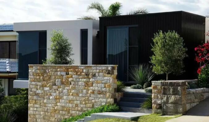 别墅庭院设计里的各式各样的小院围墙设计