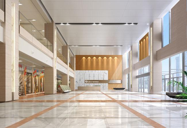 南阳永发酒店-商业空间设计