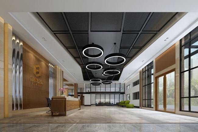 济南富驰精密科技办公楼