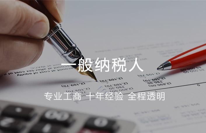 一般纳税人记账报税