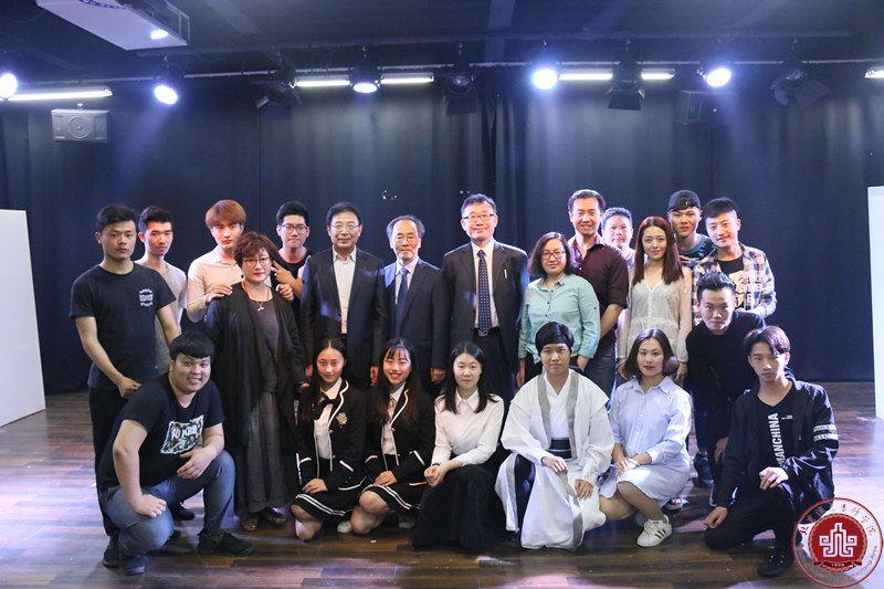 韓國全州大學一行到我院訪問交流