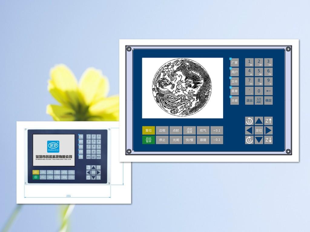 睿达科技发布最新光纤激光切割控制系统RDC6563F