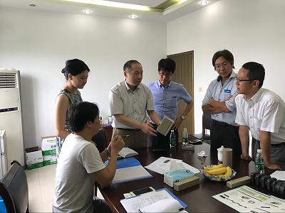 热烈欢迎日本国际知名企业到访我公司考察