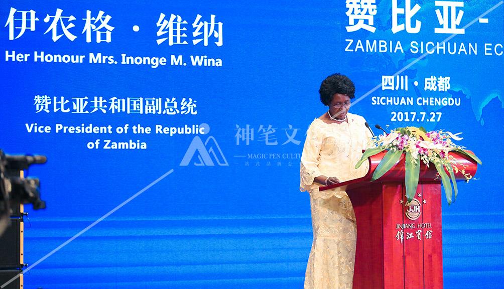 赞比亚—四川经贸合作论坛