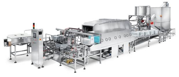 机械手全自动米饭生产线450型