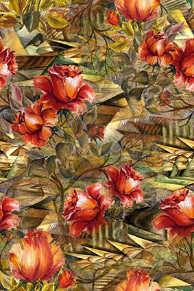 抽象油彩滤镜花型